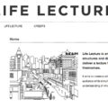 Life Lecture