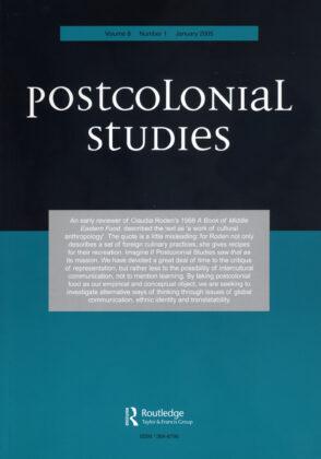 Post Colonial Studies