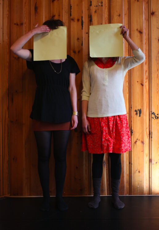 Artist as Material (The Norwegian Theatre Academy) Hanna Reidmar & Ida Grimsgaard